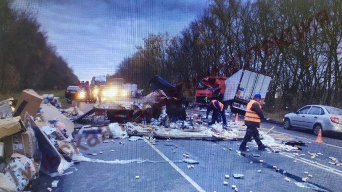 В Тульской области в ДТП погибли два водителя