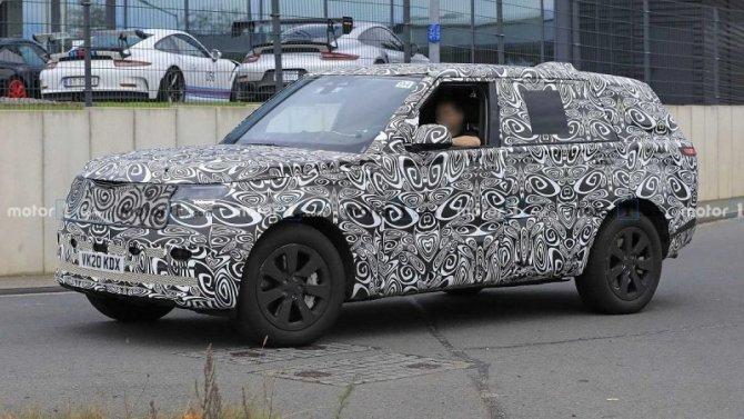Начались испытания нового Range Rover с длинной базой