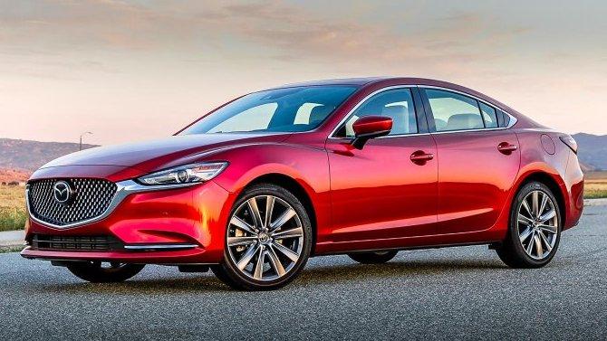 Европейская версия Mazda 6 лишилась дизеля