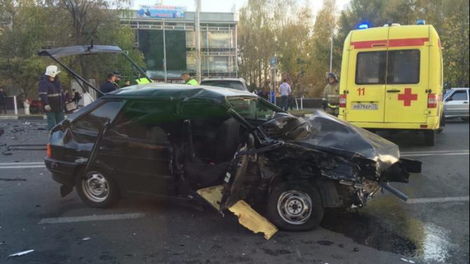 В ДТП в Ульяновске погиб мужчина