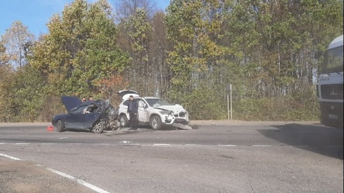 Пассажир иномарки погиб в ДТП под Липецком