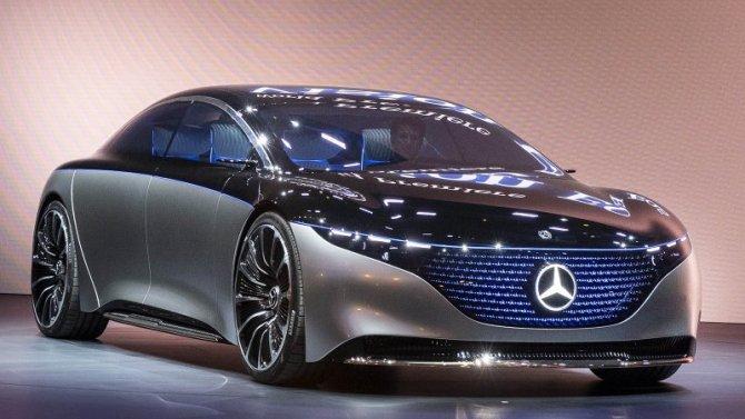 Mercedes-Benz готовит шесть новых электромобилей
