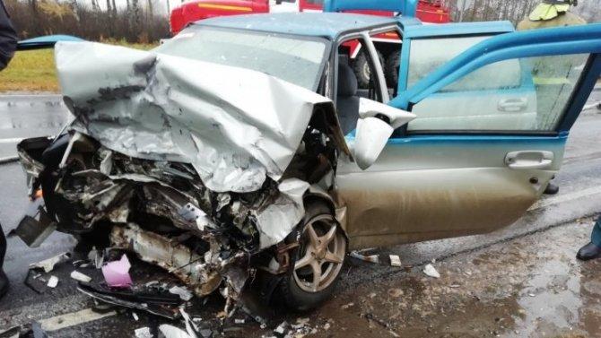Два человека погибли в ДТП с двумя ВАЗами в Арзамасском районе Нижегородской области