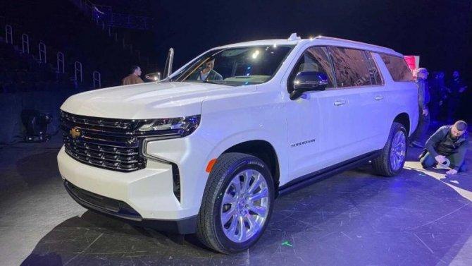 Новый Chevrolet Suburban получит «заряженную» версию