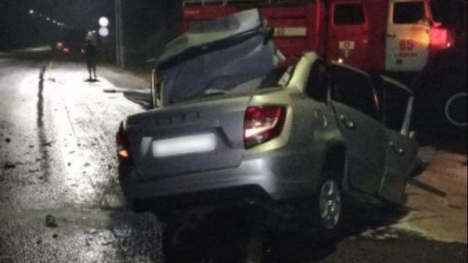 Водитель «Лады» погиб в ДТП с грузовиком в Воронежской области