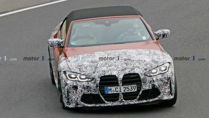 На «Нюрбургринге» появился новый кабриолет BMW M4
