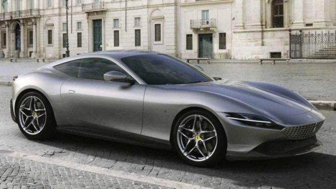 Стартовали российские продажи суперкара Ferrari Roma