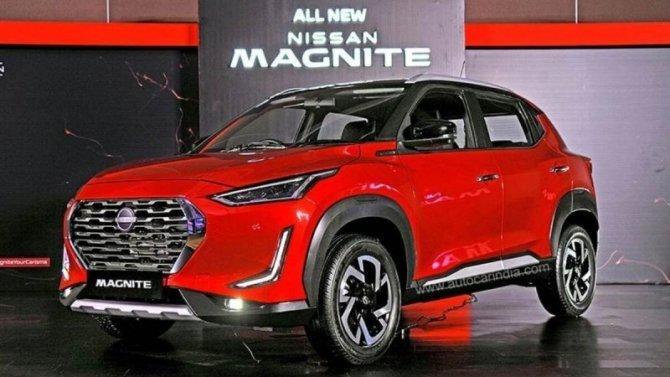 Начался выпуск кроссовера Nissan Magnite