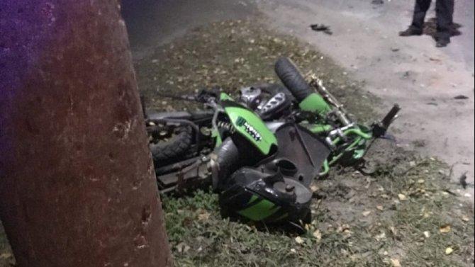 12-летний мотоциклист погиб в ДТП в Кулебаках