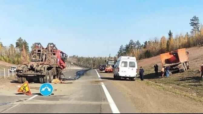 В Братске в ДТП погиб дорожный рабочий