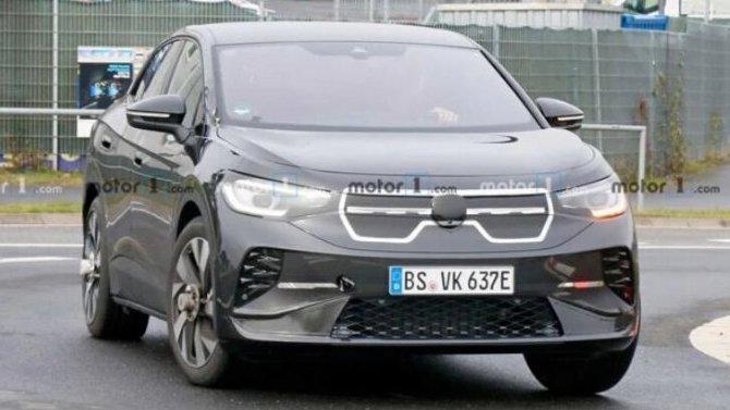 Начались дорожные испытания нового электромобиля от Volkswagen