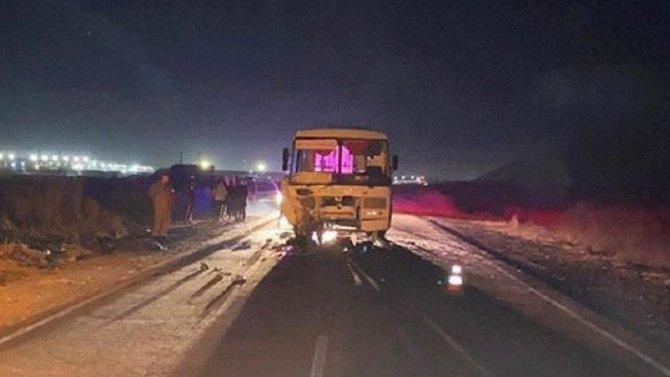 Два человека погибли в ДТП с автобусом в Республике Тыва
