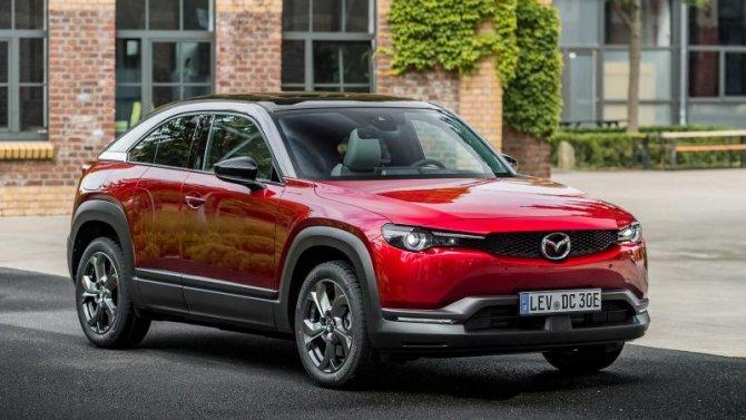 Начались продажи Mazda MX-30