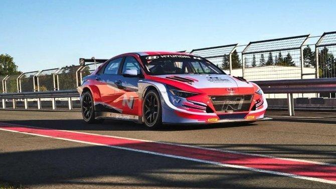 Седан Hyundai Elantra получил гоночную версию