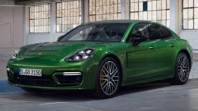 Представлен обновлённый гибридомобиль Porsche Panamera Turbo SE-Hybrid