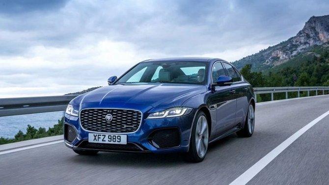 Представлен обновлённый JaguarXF