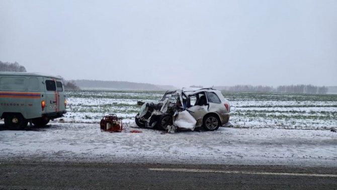 Мужчина и подросток погибли в ДТП в Омской области