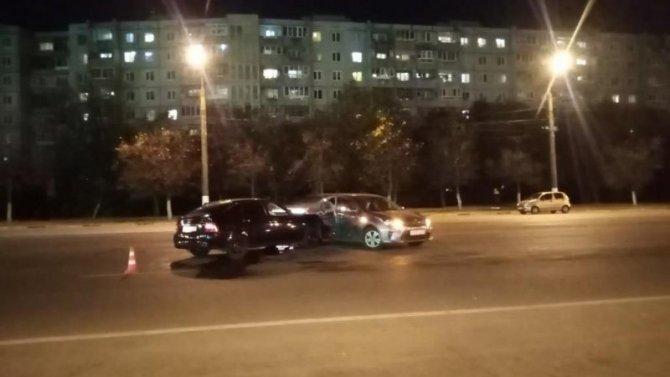 В ДТП в центре Твери пострадал человек