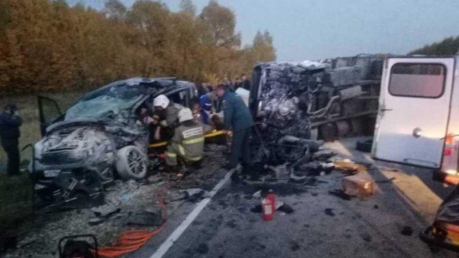Годовалая девочка погибла в ДТП под Саратовом