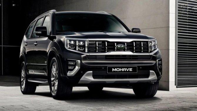 Известна дата начала продаж вРоссии нового KIA Mohave