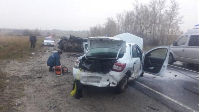 Пожилой водитель погиб в ДТП с тремя автомобилями в Кольчугинском районе