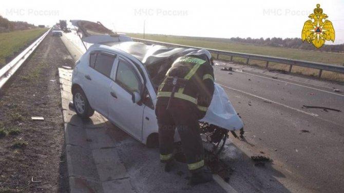 В ДТП в Калужской области погибли два водителя