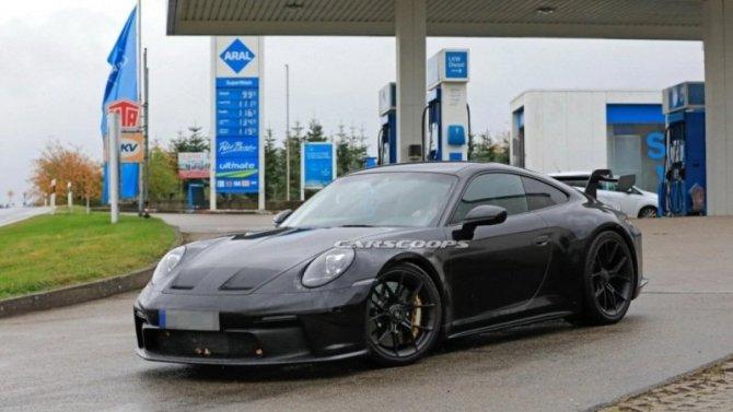 Новый Porsche 911 GT3 лишился камуфляжа