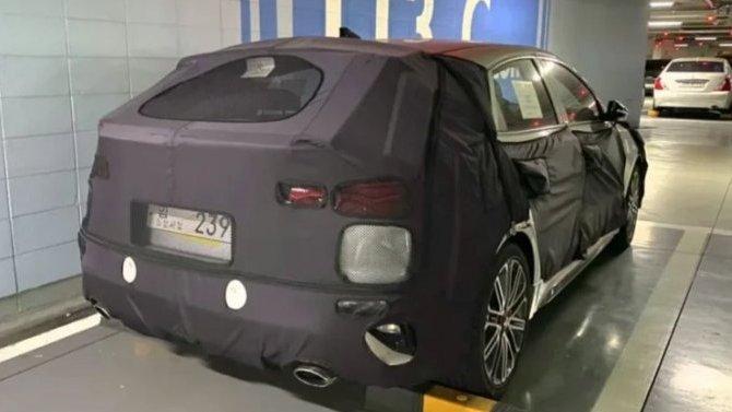 ВСеть попали шпионские фото GT-версии новой Kia Cerato