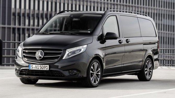 Бамперы микроавтобусов Mercedes-Benz Vito опасны для пешеходов