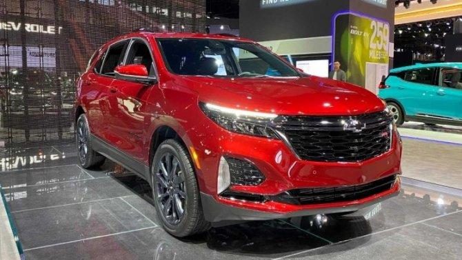 Кроссоверы GMC Terrain и Chevrolet Equinox получат новый мотор