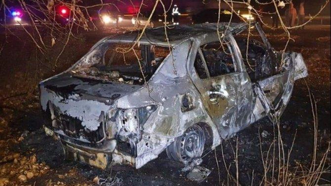 В Башкирии иномарка врезалась в дерево и загорелась – погиб пассажир