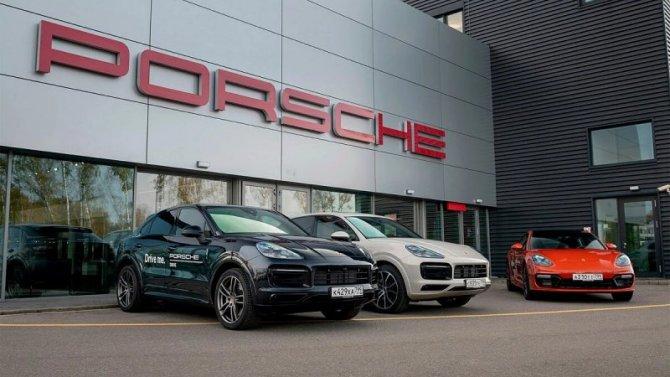 Фирма Porsche запустила вРоссии сервис поаренде своих автомобилей