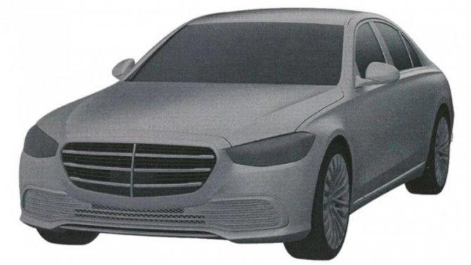 ВРоссии запатентован новый Mercedes-Benz E-Кlassе
