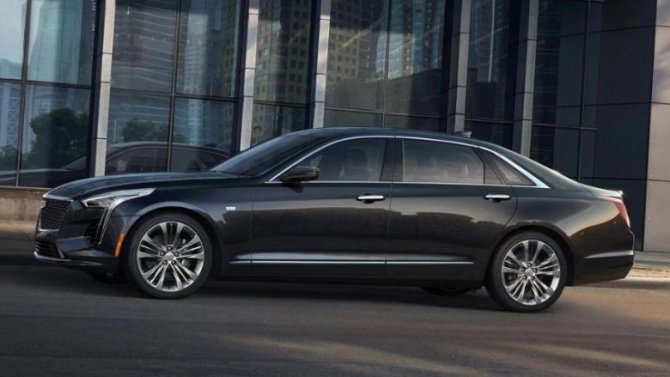 ВРоссии прекращены продажи седана Cadillac CT6