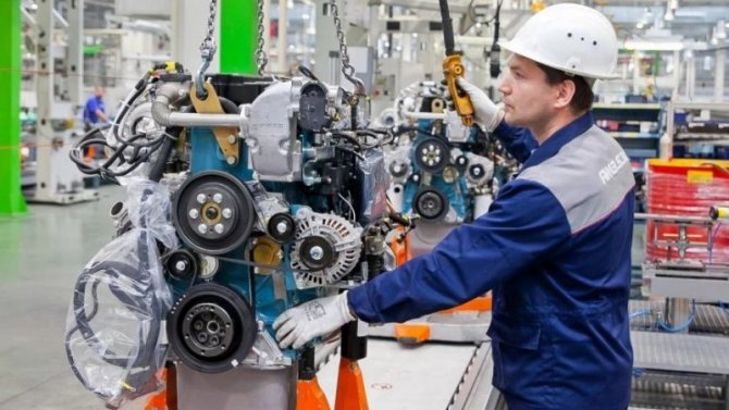 ВЯрославле началось производство модернизированного дизеля ЯМЗ-6580