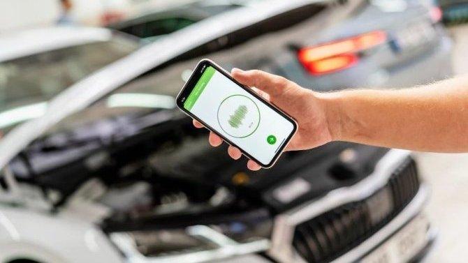 Неисправности вавтомобилях Skoda будет возможно определить сосмартфона