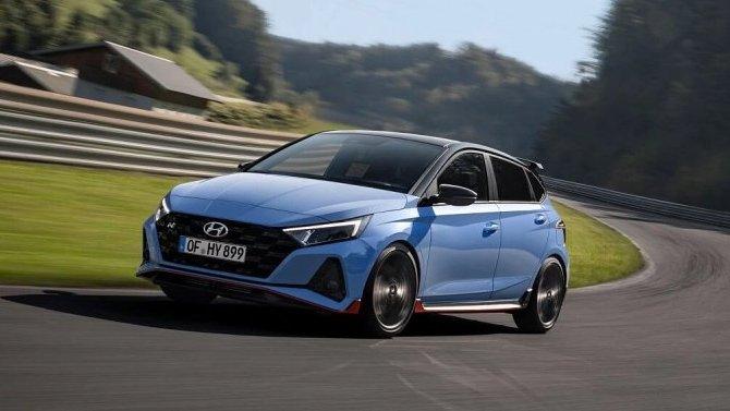 Состоялась премьера рестайлингового Hyundai i20 N