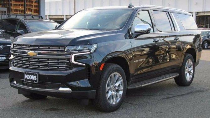 Внезапно: вРоссии появились новые Chevrolet Suburban