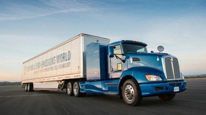 Toyota начала разработку электрогрузовика наводородных топливных элементах