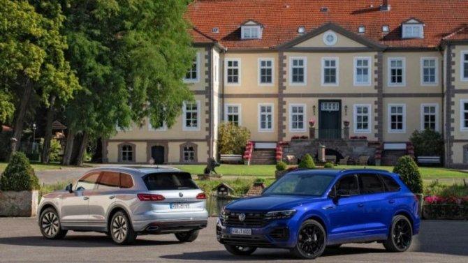 Volkswagen Touareg получил две гибридные модификации