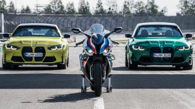 Представлен первый «заряженный» спортбайк от BMW