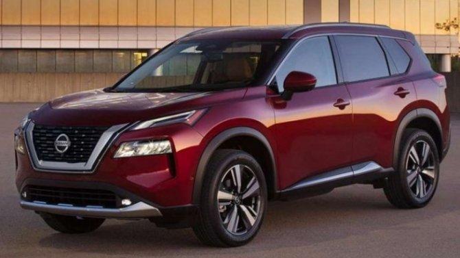 ВРоссии запатентован новый Nissan X-Trail
