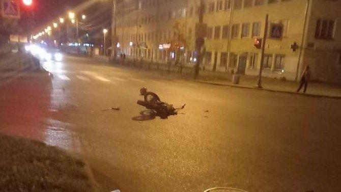 Подросток на мопеде пострадал в ДТП в Волхове