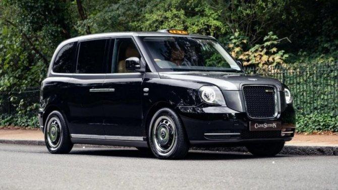 Лондонское такси стало лимузином