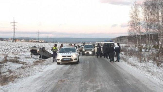 Пассажирка иномарки погибла в ДТП под Нижнеудинском