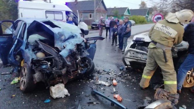 Три человека погибли в ДТП в Новгородской области