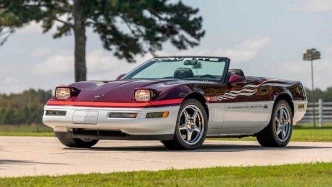 На продажу выставлен очень редкий Chevrolet Corvette