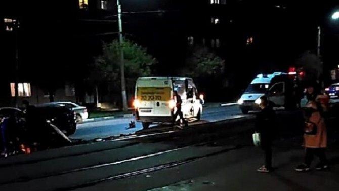Девушка пострадала в ДТП в Туле