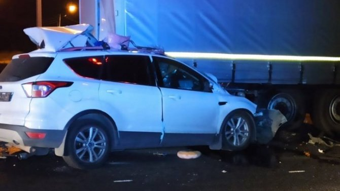 В ночном ДТП в Дзержинском районе погиб человек