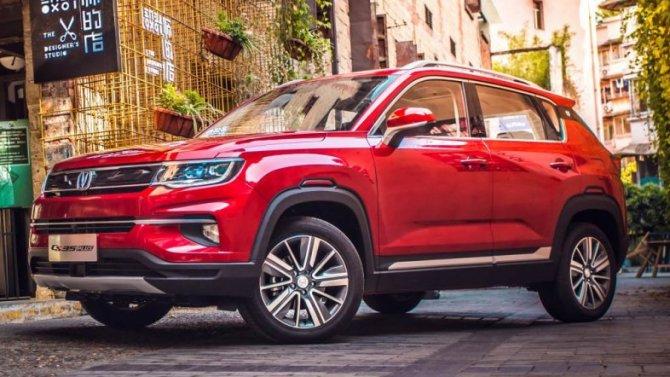 Значительно выросли российские продажи автомобилей Changan